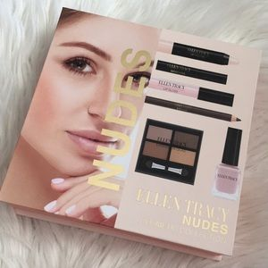Ellen Tracy nudes cosmetic collection new
